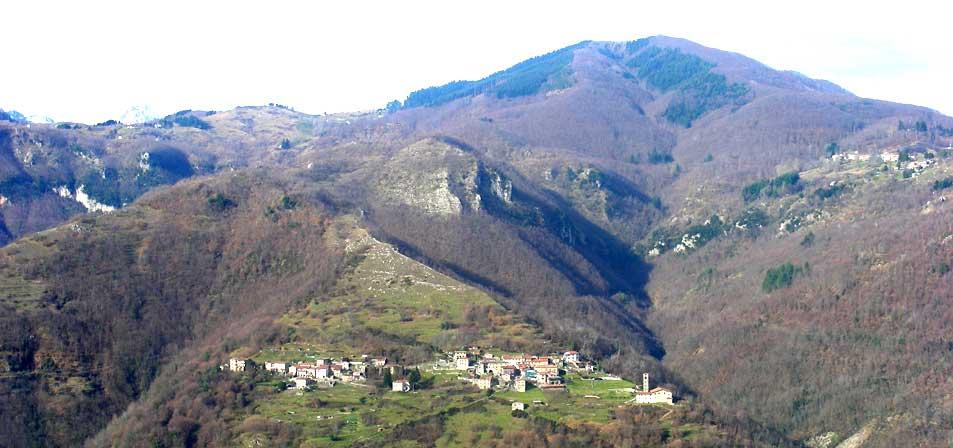 Paesaggio della Garfagnana